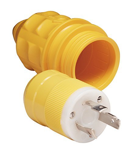 Marinco 30 Amp 125 Volt Locking Shore Cord Connector 305CRV Female Park Power